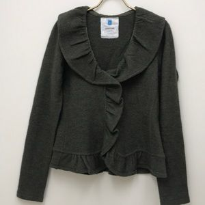 Anthropologie Sparrow Olive Green